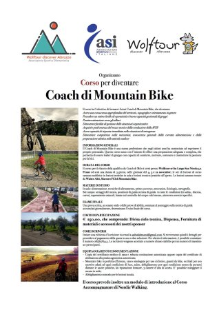 Penne, Italia: Corso Coach Mountain Bike