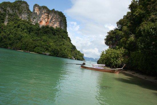 Amazing Koh Hong Krabi Island Trip from Phuket: Picture taken at Koh Phak Bia