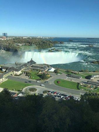 Niagara Falls Marriott Fallsview Hotel & Spa: View from room 1612