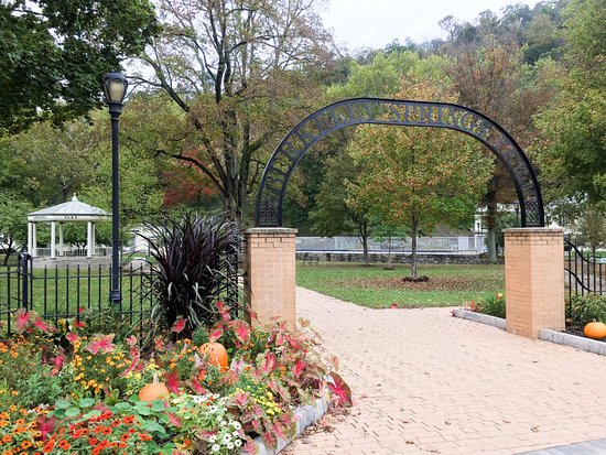 Berkeley Springs, Virginia Occidentale: Entrance to the Park