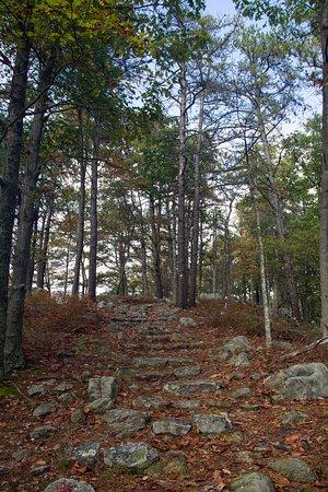 Berkeley Springs, WV: Uphill climb on the Ridge Trail