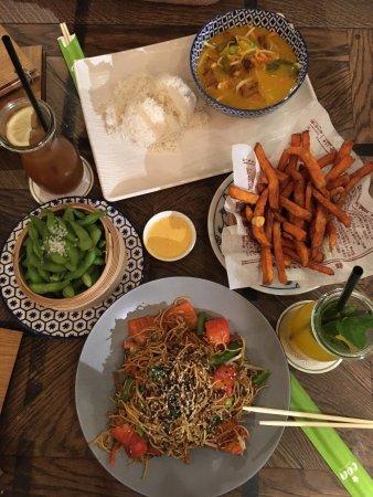 coa asian food drinks