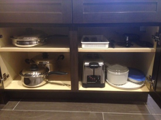 Kitchen cookware Picture of Homewood Suites by Hilton Los
