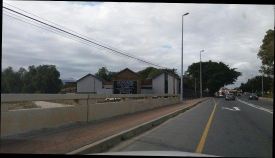 Robertson, Zuid-Afrika: Four Cousins Restaurant