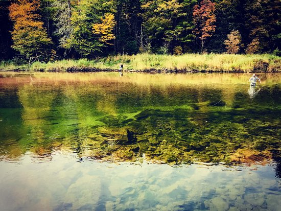 Margaree Forks, Canadá: Fly fishing