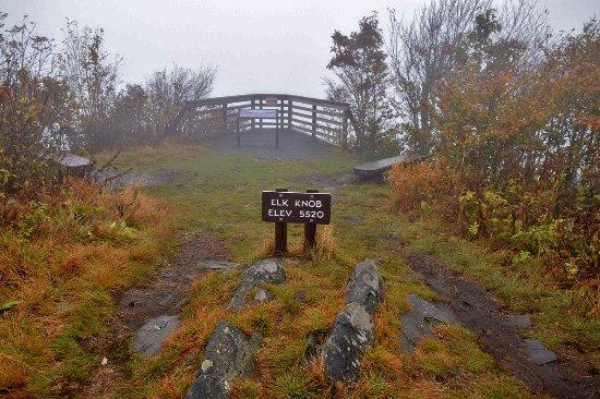 Todd, Северная Каролина: Elk Knob Summit