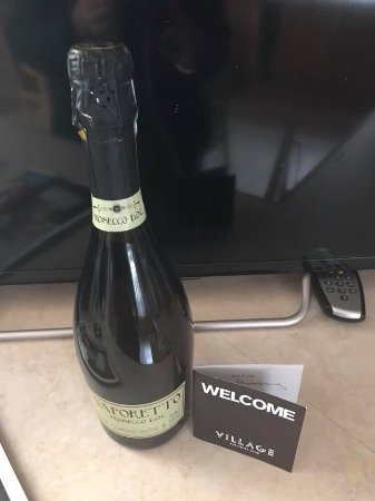 Chilwell, UK: Gift from hotel