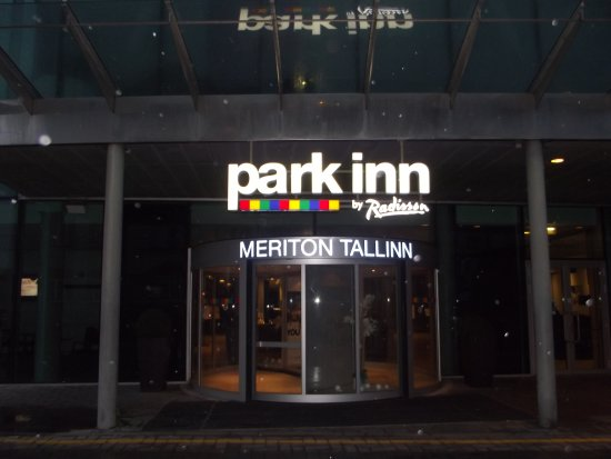 Park Inn by Radisson Meriton Conference & Spa Hotel Tallinn: Entrance