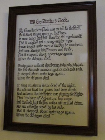 Piercebridge, UK: Song composed by Wlliam Clay Work in 1875