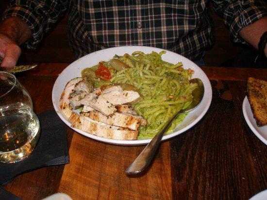 Ferndale, MI: Pasta + Pesto and Chicken