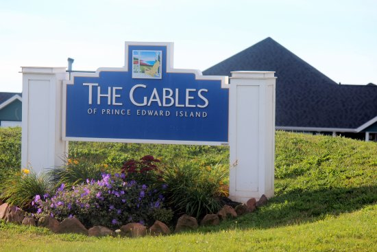 The Gables of PEI Resort : Entrance to the Gables of PEI.