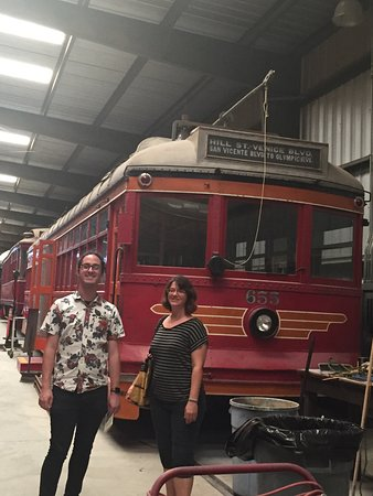 Perris, Kaliforniya: Orange County trolley.
