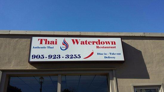Thai Restaurant Waterdown