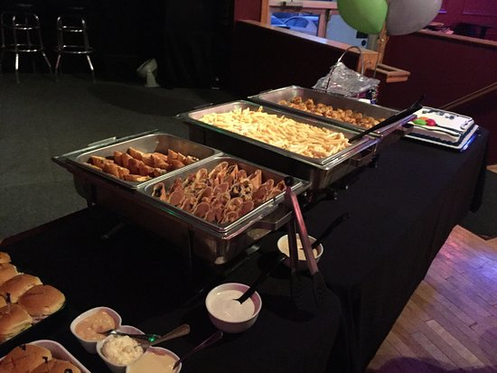 sol bistro private party food items