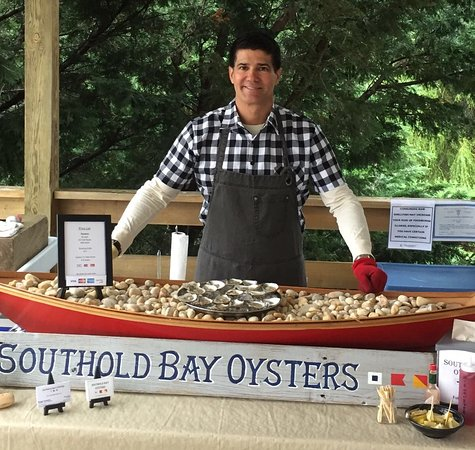 Southold, Nowy Jork: Oyster Tasting