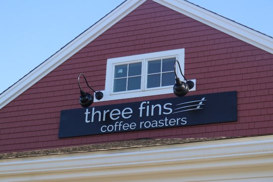 three fins under the gable picture of three fins coffee