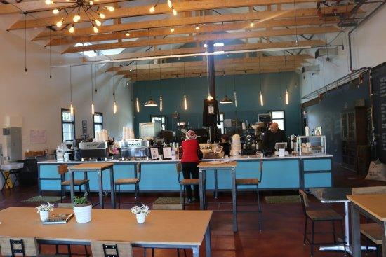 West Dennis, MA: The serving bar.