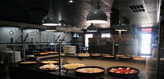 Anderson, SC: Hot Bar View to dining Area