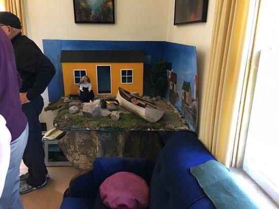Glen Margaret, Kanada: diorama