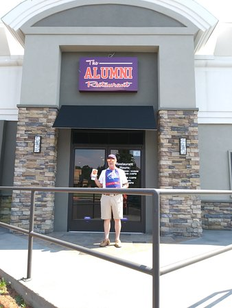 At The Alumni Restaurant in the CLEMSON Best Western Plus Inn for the 10/21/2017 Total Solar Ecl