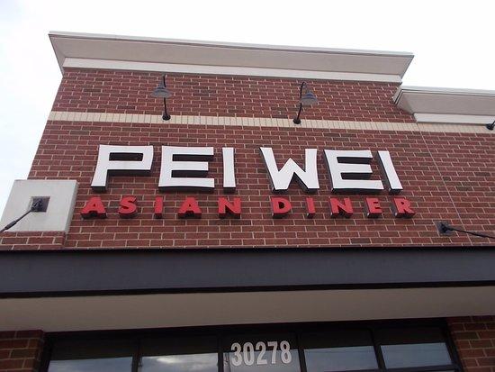 Pei Wei Asian Diner, Woodward Ave nr Webster, Royal Oak, MI.