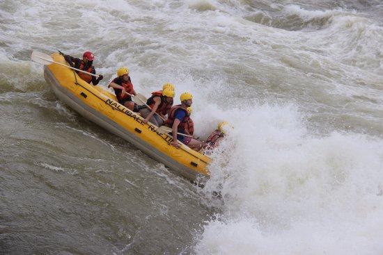 Jinja, Uganda: White Nile rafting