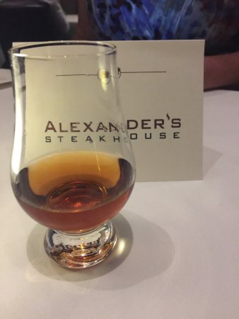 Alexander's Steakhouse: Waco made Balcones Whiskey and Steak