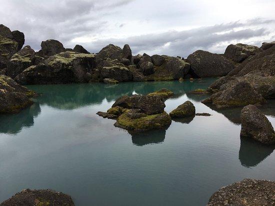 Borgarfjordur Eystri, Исландия: Very cool lake