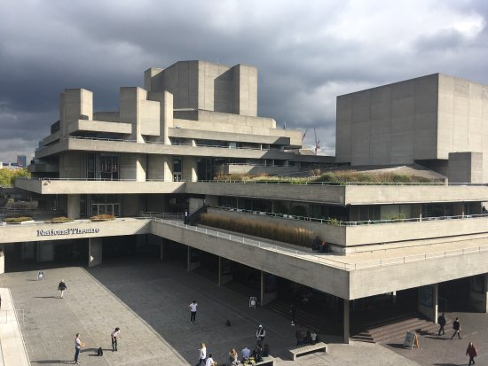 National Theatre: Brutalist at its best.