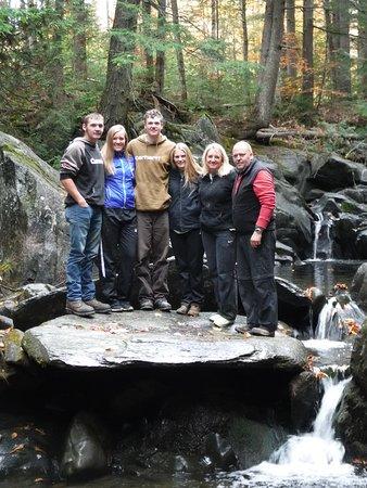 Bingham, ME: Fall foliage family trip