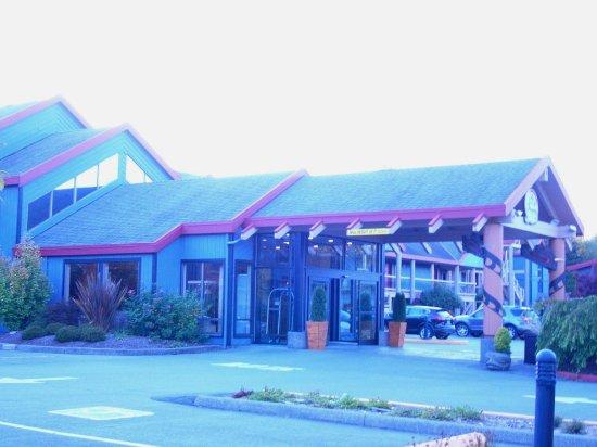 Best Western Tin Wis Resort - Haupteingang