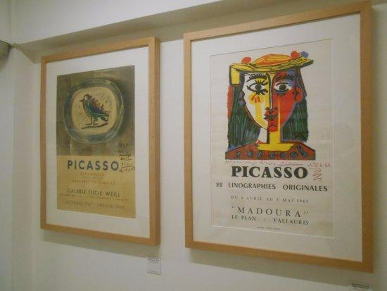 Museo Picasso  Coleccion Eugenio Arias: Carteles