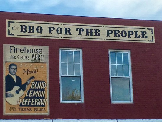 Firehouse BBQ: The Firehouse signage
