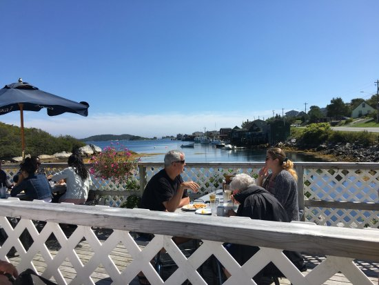 West Dover, Canada: wonderful alfresco dining