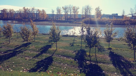 Prince George, Canada: such a relaxing view from the patio
