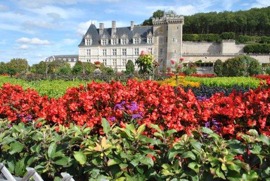 Chateau de Villandry: el castillo de lejos