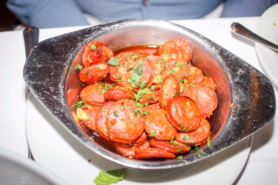 Spain Restaurant Toma Bar Gluten Free Chorizo