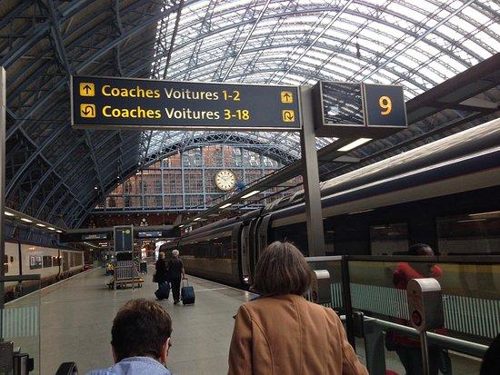 Eurostar photo de gare du nord paris tripadvisor for Agence avis gare du nord