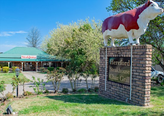Glen Innes, Australien: The Hereford Steakhouse Char Grill on the premises of the Rest Point Motor Inn