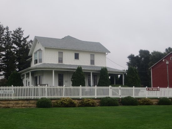 Dyersville, Αϊόβα: House used in the movie.