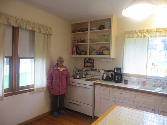 Dyersville, IA: Inside kitchen from movie set.
