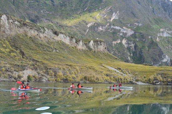 Circuito La Laguna Quilotoa, recorrido 3 horas en kayak