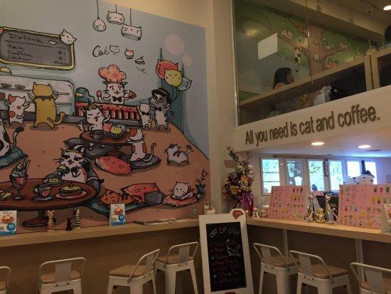 Cat Up Cafe Silom
