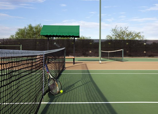 Chandler, Arizona: Resort Tennis Courts 