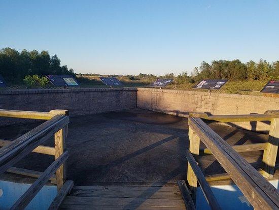 Beaumont, TX: Viewing platform