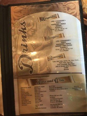 menu bager