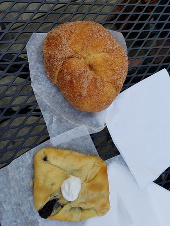 Stockholm, WI: You MUST try the tasty treats from the bakery!