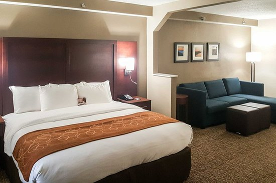 Alcoa, TN: Suite with king bed(s)
