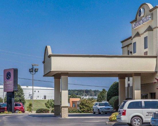 Alcoa, TN: Hotel exterior