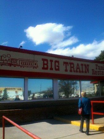 Exterior Picture Of Big Train Family Restaurant Colorado